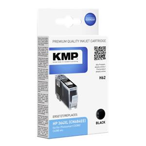 KMP H62 ink cartridge black comp. w. HP CN 684 EE No. 364 XL