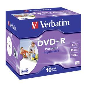 1x10 Verbatim DVD+R 4,7G
