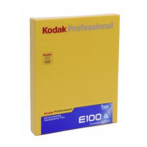 1 Kodak E-100 G         4x5 10 Sheets