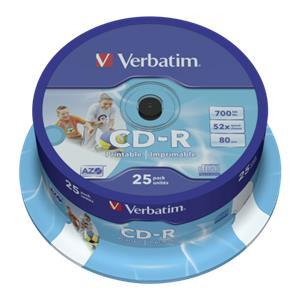 1x25 Verbatim CD-R 80 /