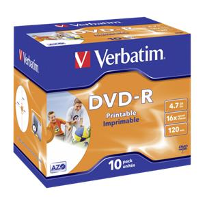 1x10 Verbatim DVD-R 4,7G