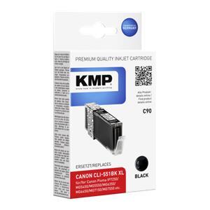 KMP C90 ink cartridge bl