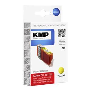 KMP C93 ink cartridge ye