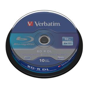 1x10 Verbatim BD-R Blu-R