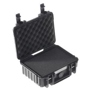 B&W Outdoor Case Type 500 black with pre-cut foam insert