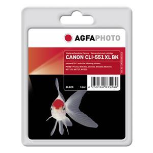 AgfaPhoto CLI-551 XL BK