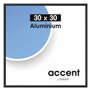 Nielsen Accent             30x30 Aluminum black matt 54126