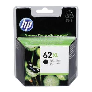 HP C2P05AE ink cartridge black No. 62 XL