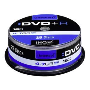 1x25 Intenso DVD+R 4,7GB