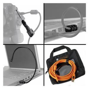 Tether Tools Starter Tethering- Kit: USB 2.0 A/Mini-B Cable 4,6m