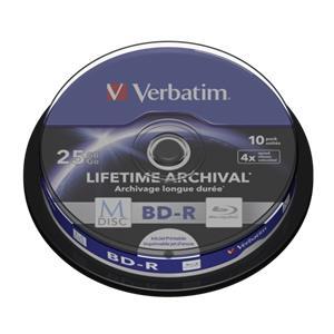 1x10 Verbatim M-Disc BD-