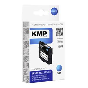 KMP E142 ink cartridge cyan compatible with Epson T1632