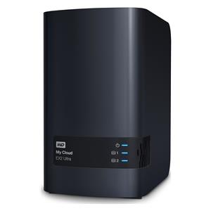 WD My Cloud EX2 Ultra NAS 2-bay 16TB