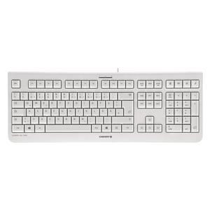 CHERRY KC 1000 weiß-grau