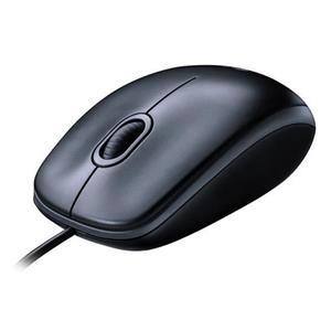 Logitech Mouse M100 grau