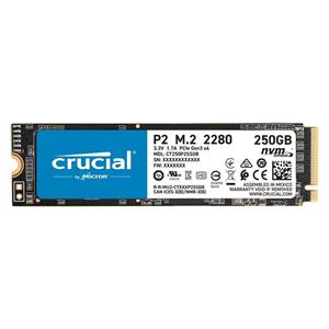 Crucial P2 SSD 250 GB, M.2, PCIe NVMe