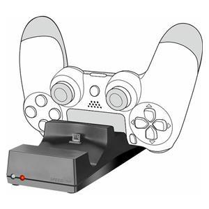 Punjač za PLAYSTATION 4 kontroler SPEEDLINK Jazz USB punjač za 2 kontrolera