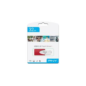 USB memorija PNY 32GB USB2.0 Attache 4 crveni