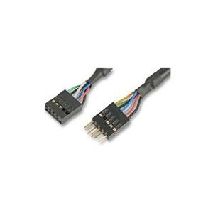 AKASA EX13941-40 IEEE 1394 40CM FEMALE TO MALE HEADER INTERNAL EXT. CABLE - ODMAH DOSTUPNO