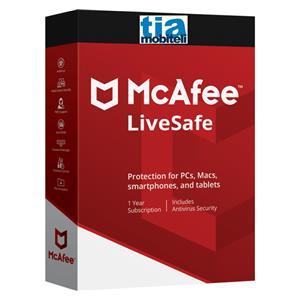 McAfee LiveSafe licenca