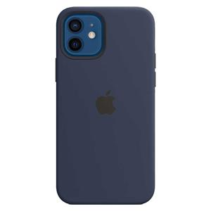 Acc. Case Apple 12/Pro Magsafe silicone navy