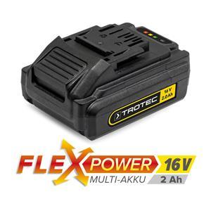 Trotec Višenamjenska punjiva baterija Flexpower, 16 V, 2 Ah - ODMAH DOSTUPNO -