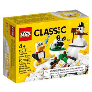 LEGO Classic 11012 Kreativ-Bauset m. weiß. Steinen